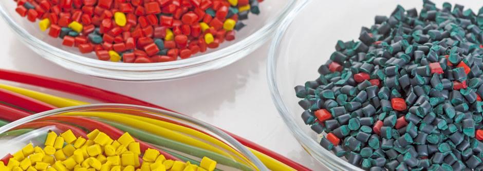 image de granules plastique pour rotomoulage