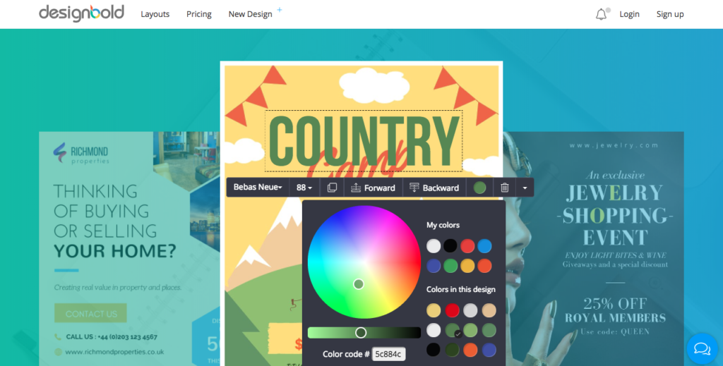 designbold un outil gratuit pour créer des visuels en ligne